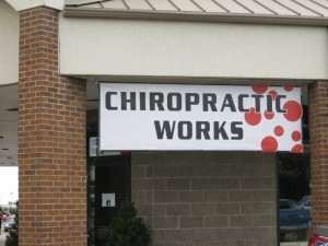 Chiropratic works banner