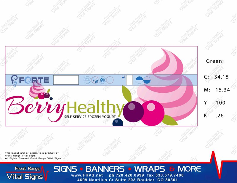 Yogurt machine graphics