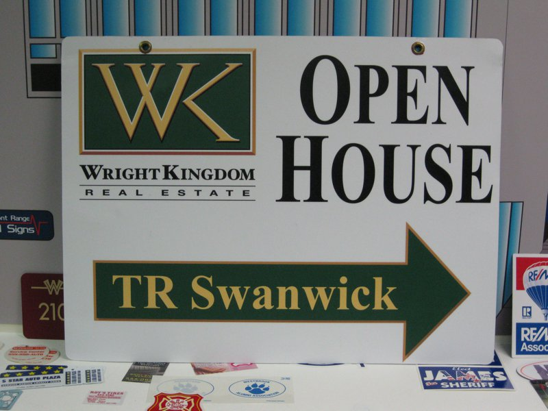 Open house sign – Front Range Vital Signs