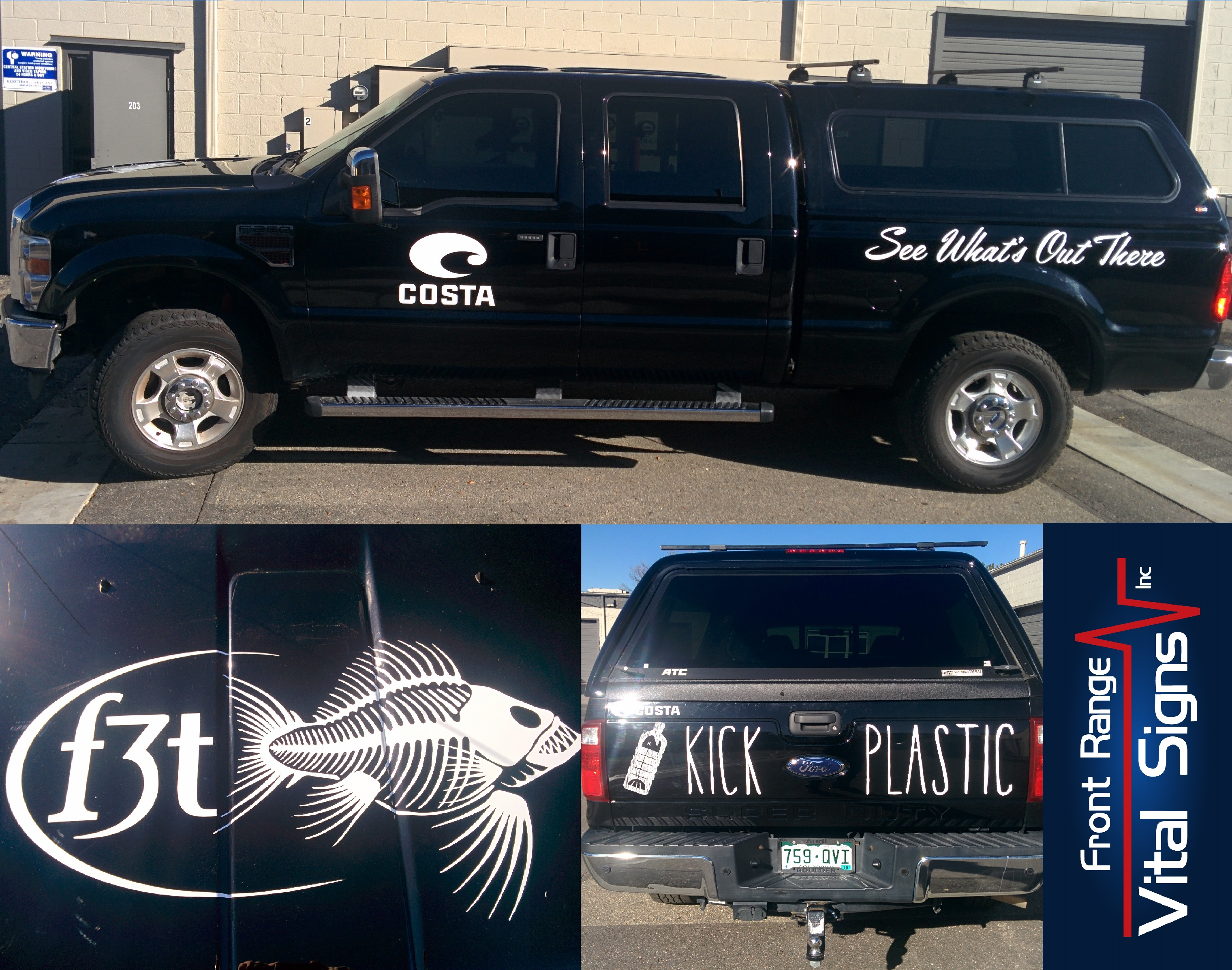Vehicle graphics, truck graphcis