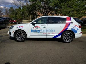 Boulder vehicle graphics, vehicle wraps, car wraps