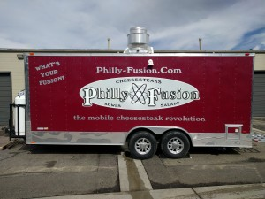 Food Truck graphics, wraps, vehicle graphics