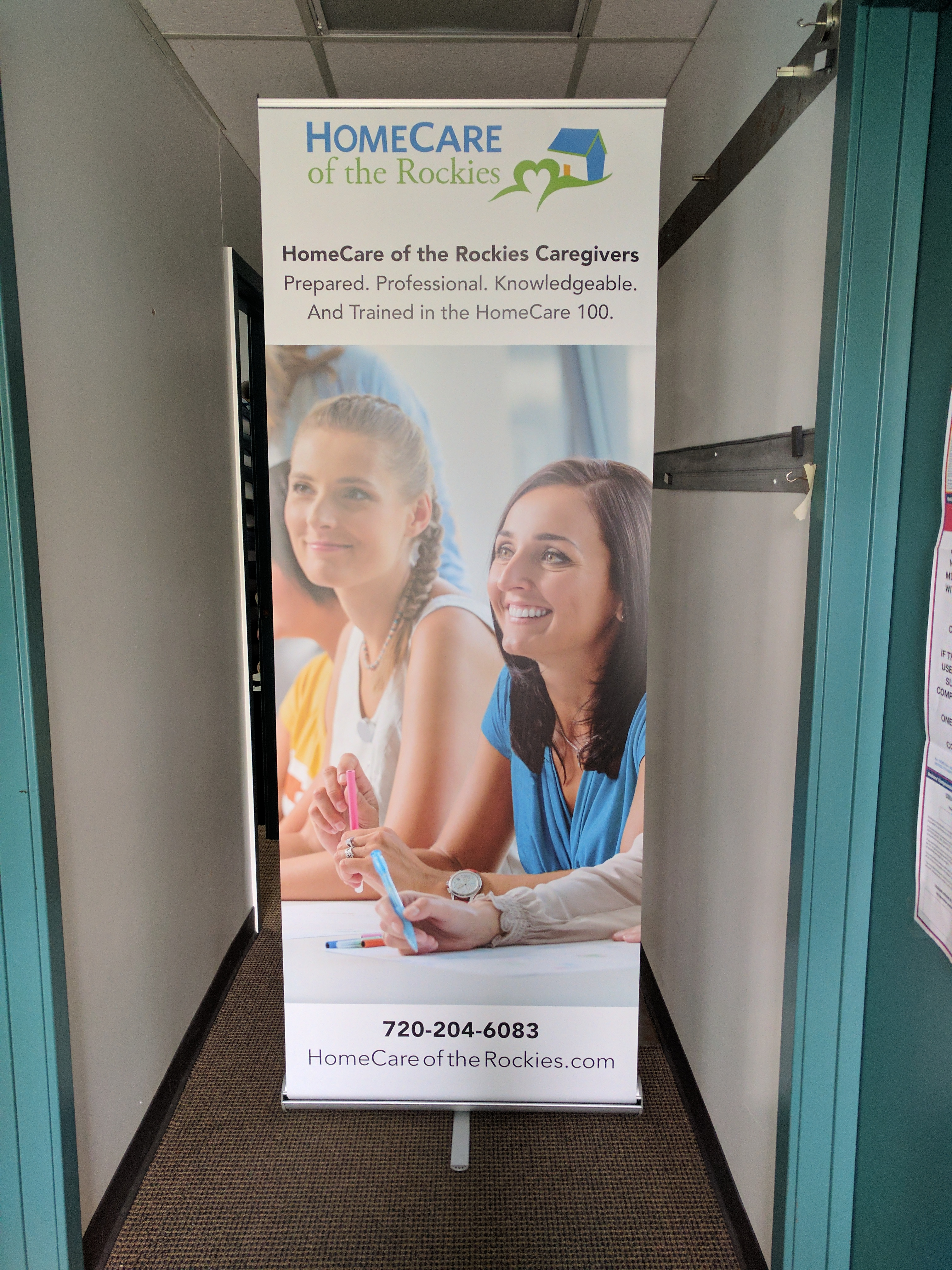 Pull-up Banner, Tradeshow Banner