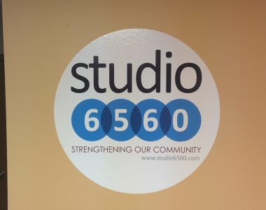 Studio 6560 digital print wall graphic