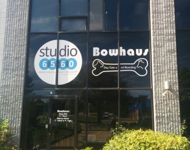 Studio 6560 window graphics