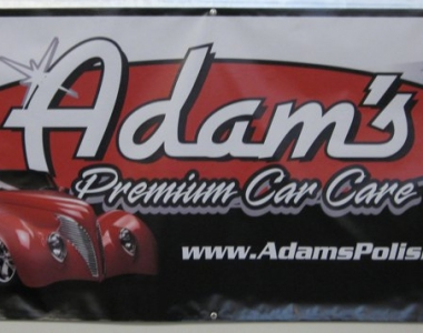 Adam's polishes banner