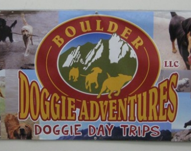 Boulder Doggie Adventures custom banner