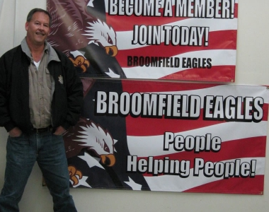 Broomfield Eagles banner