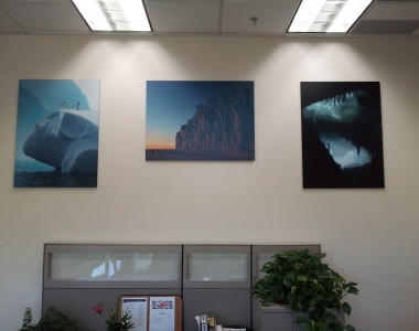 Employee photo prints