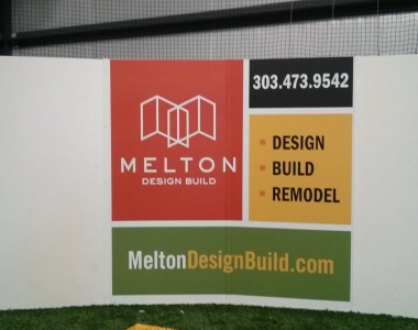 Melton Design Build Print on Soccer Wall